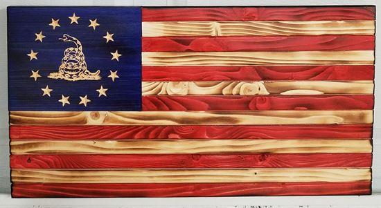Betsy Ross Gadsden Flag