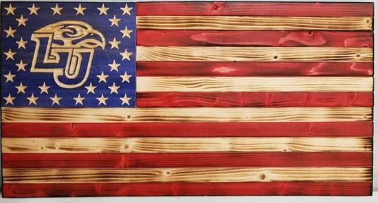 Liberty University tribute flag